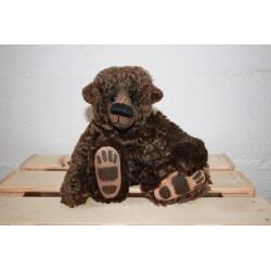 Jacko, ours de collection à vendre de la marque The English, teddy bear à vendre