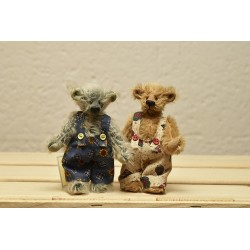 Benny, ours de collection, teddy bear de collection de la marque Gizmo bear