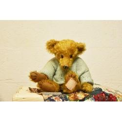 Ours Dida, ours de collection à vendre de la marque Barbaras Original, idée cadeau ours de collection